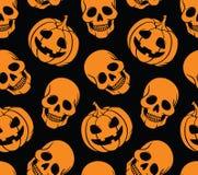Halloween bezszwowy Obraz Stock