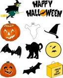 Halloween-Bilder Stockbild