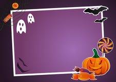Halloween-Bilderrahmen Stockbilder