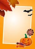 Halloween-Bilderrahmen Stockfoto