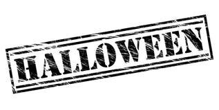 Halloween black stamp Stock Images