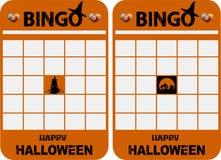 Free Halloween Blank Decorated Bingo Cards Royalty Free Stock Photos - 155749858