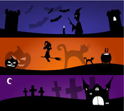Halloween Blends. 3 kinds of scary Halloween blends Stock Image