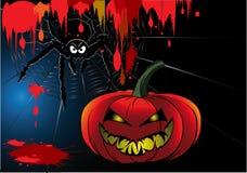 Halloween blood cartoon Royalty Free Stock Image