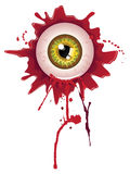 Halloween Bloody Eyeball Royalty Free Stock Image
