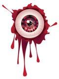 Halloween Bloody Eyeball Stock Photos