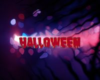 Halloween blue abstract background dark stock images