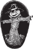 Halloween bogey royalty free illustration