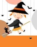Halloween bonito Imagem de Stock Royalty Free
