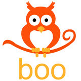 Halloween Boo Royalty Free Stock Image
