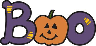 Halloween Boo Royalty Free Stock Images