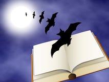 Halloween book Stock Photos