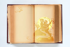 Halloween book background. Stock Images