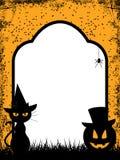 Halloween Border Background Stock Photo