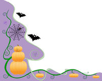 Halloween Border Design Royalty Free Stock Photography