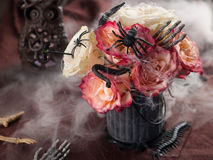 Halloween bouquet Stock Images