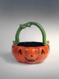 Halloween Bowl. Jack O' Lantern Candy Bowl Royalty Free Stock Image