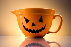 Halloween bowl Royalty Free Stock Image