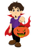 Halloween boy Stock Images