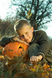 Halloween boy Royalty Free Stock Image