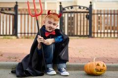 Halloween boy Stock Photo