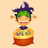 Halloween boy Royalty Free Stock Photo