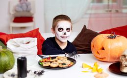 Halloween boy Stock Photo