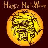 Halloween-brijzombie C Stock Foto's