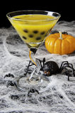Halloween Bubble Tea Stock Photo
