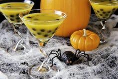 Halloween Bubble Tea Royalty Free Stock Image