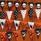 Halloween bunting Royalty Free Stock Image