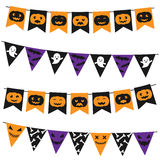 Halloween bunting pack Royalty Free Stock Photo