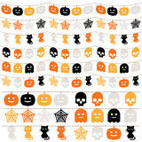 Halloween bunting Stock Photos