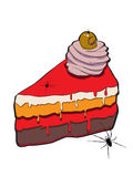 Halloween cake Royalty Free Stock Images