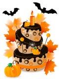 Halloween cake Stock Photo