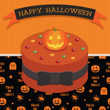 Halloween cake Stock Images