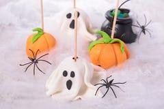 Halloween cake pop Stock Images