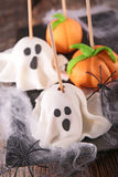 Halloween cake pop Royalty Free Stock Image