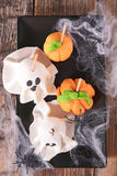 Halloween cake pop Royalty Free Stock Photos