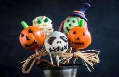 Halloween cake pops Stock Photography