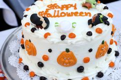 Halloween Cake Royalty Free Stock Photos