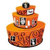 Halloween cake Stock Photos