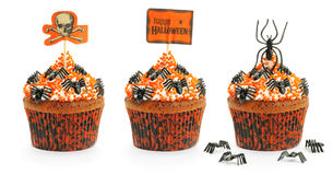 Halloween cakes set Stock Photography