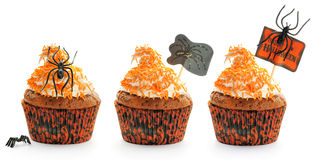 Halloween cakes set Royalty Free Stock Photography
