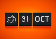 Halloween calendar Stock Photo