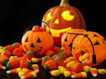 Halloween Candies Royalty Free Stock Photography