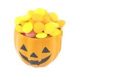 Halloween candies Stock Photos