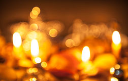 Halloween candle light Stock Photography
