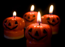 Halloween Candles Royalty Free Stock Image