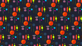 Halloween candy background Stock Images